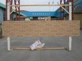 Rivestimento tagliato del cemento della fibra del mattone della parete esterna