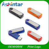 Azionamento di plastica dell'istantaneo del USB di Pendrive del disco istantaneo del USB della parte girevole