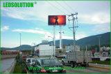 옥외 LED 표시를 광고하는 P10 정면 서비스 풀 컬러