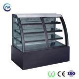 정면 미닫이 문 빵집 또는 생과자 또는 단것 또는 케이크 냉각장치 냉장고 내각 (KT760AF-M2)