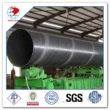 pipe soudée par spirale d'acier du carbone de 100nb Schedule40 A53 gr. B