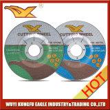 4,5 '' 115X3.0X22.2 mm T42 abrasivo metal discos de corte con MPa En-12413