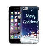 WeihnachtsSchneemann konzipiert Plastik-PC Kasten-Deckel für iPhone