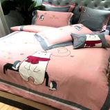 ホテルのアパートのための贅沢なPercaleのホテルの寝具4部分の