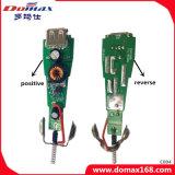 Chargeur rapide de véhicule de traqueur de course de connecteur USB de Gadegt de téléphone cellulaire