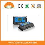 contrôleur solaire de charge de 12V 24V 10A PWM pour le système solaire