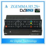 DVB S2X + DVB S2 + DVB T2/C Newest Satellite H. 265 de Ontvanger Zgemma H5.2s+ van TV