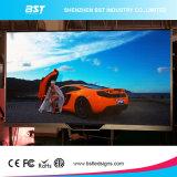 Publicidad de muestras video de interior a todo color del LED, pequeñas tablillas de anuncios de LED del pixel de SMD1010 P1.9 Utral HD