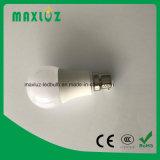 220V 2700k B22 ampoule LED 5W avec Ce, RoHS