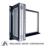 Окно алюминиевой рамки покрытия порошка Bi-Складывая