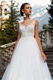 Jasmin линия разнослоистые платья венчания с Fishbone