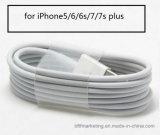 Câble usb de foudre pour l'iPhone câble de caractéristiques de remplissage et de synchro de 5/6/7