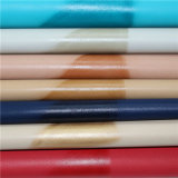 Umweltfreundliches Fußbekleidung oberes Material aufgetragenes PUfaux-Leder
