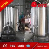 depósito de fermentación de la máquina de la cerveza 3000L y el tanque brillante de la cerveza