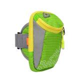 De sportieve Nylon Zak die van de Pols de Zak van de Pols Armbag voor Smartphone in werking stellen