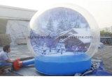 Natale esterno delle decorazioni & globo gonfiabile gigante della neve di Halloween, gonfiabile