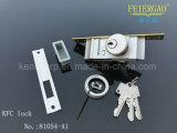 ZL-81054-A1 Doble Cilindro de embutir manijas de bloqueo en latón