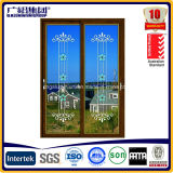 Serie esmaltada doble de aluminio de la puerta deslizante 2.0m m THK