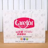 Sacs d'emballage bon marché de toile avec le logo estampé par coutume