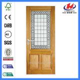 Intérieurs en verre de portes de café de portes de la lame Jhk-FD d'antiquité en verre simple de porte en verre