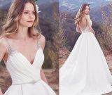 Vestido de Noiva de Diamante em Diamante Embellished