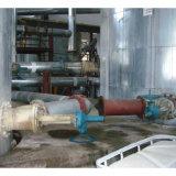 Válvula de lata de tipo Y para descarga de pasta de água de carvão