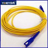 Cavo di ponticello ottico della fibra 9/125um di MP Sx 3mm 3m Sc/Upc-Sc/Upc