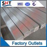 AISI 304 Barre carrée en acier inoxydable brillant poli laminé à froid