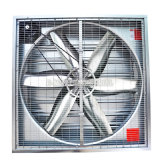 1380mm / 54 '' Obturateur automatique Open Poultry Exhaust Fan