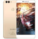 元のBlubooの二重カメラのCellhone Mtk6737tのクォードのコアアンドロイド6.0 5.5のインチの携帯電話2gのRAM 16g ROM 1920X1080ピクセルスマートな電話金