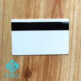 Loco programable de la tarjeta del PVC del negro/tarjeta de la raya magnética de Hico