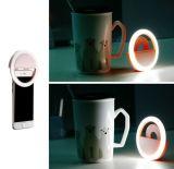 Luz esperta de Selfie do anel de 5 tipos de iluminar a luz do diodo emissor de luz de /Phone para o iPhone 6s Plus/Se para o Android Smartphones de Samsung Vivo