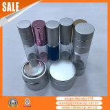 Flessen Zonder lucht van het Aluminium pp van de voorraad de Transparante voor de Room van de Lotion