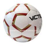 La mejor puntuación cosida a mano PU desgaste balón de fútbol