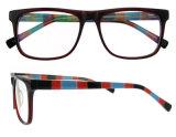 Marco hecho a mano del acetato de Eyewear de la manera del marco de los vidrios descubiertos ópticos al por mayor de la manera