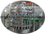 Linha de produção de enchimento equipamento da unidade da cerveja 3in1 do frasco de vidro