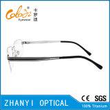 Стекел Eyeglass Eyewear высокого качества рамка Semi-Rimless Titanium оптически (8412)