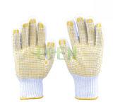 PVC Dotted Gants, Points Gants de coton en plastique anti-dérapant Gants Gants de protection