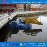 Geschäftsversicherungs-Wasserpflanzeweed-Ausschnitt-Lieferungs-Boots-Bagger