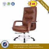 ブラウンの革張りのいすの贅沢な主任のオフィスの椅子(Hx-A8047)