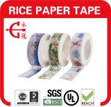 Arroz de enmascarado del arte de DIY de cinta de papel