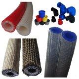 Briaded Silikon-Schlauch/Glasgewebe verstärkten Silikon-Schlauch/Vakuumrohrleitung, ISO Diplomhersteller