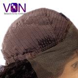 공장 도매가 정면 레이스 가발에 꼬부라진 브라질 자연적인 머리