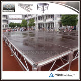 Stage mobile en aluminium de 18 mm sur scène mobile en aluminium pour événements