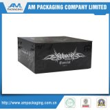 Boîte à cigares de luxe de modèle fait sur commande de caisse d'emballage pour les hommes