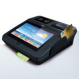 Doble pantalla de Android lector de tarjetas por deslizamiento de posición con las impresoras / Bluetooth