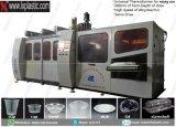 Maquinaria de Thermofomring com empilhador de vidro