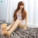poupée de sexe de corps de silicones de poupées sexy réalistes de 158cm pleine pour la masturbation mâle