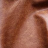 Hand-Gefühl Microfiber PU-ledernes Sofa-Möbel-Leder (HS-M060)