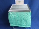 65% 효율성 녹색 F6 페인트 포켓 필터